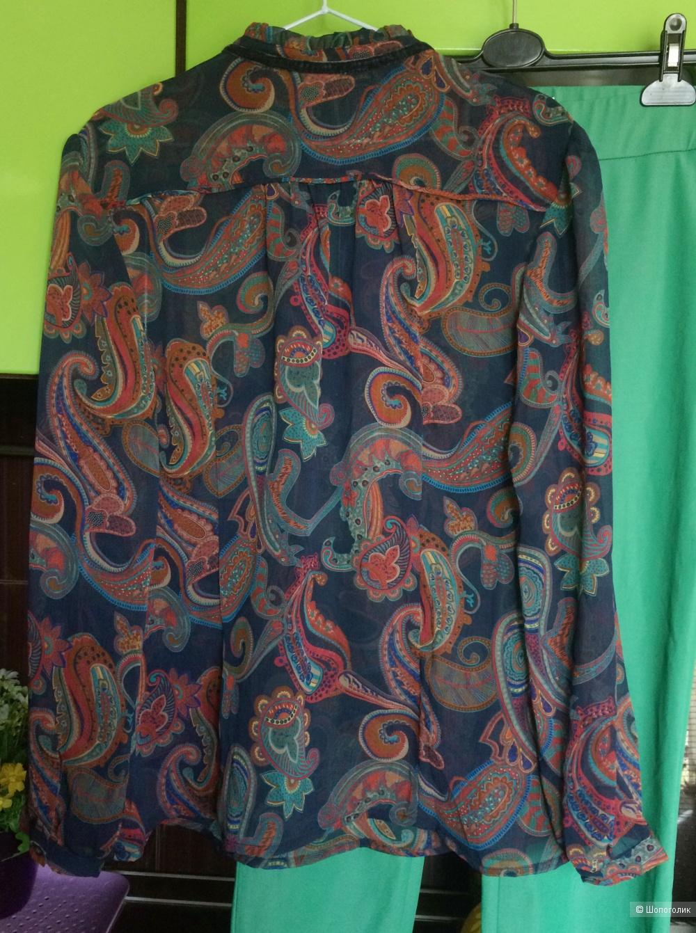 Блуза синяя S.Oliver, 44-50 рр