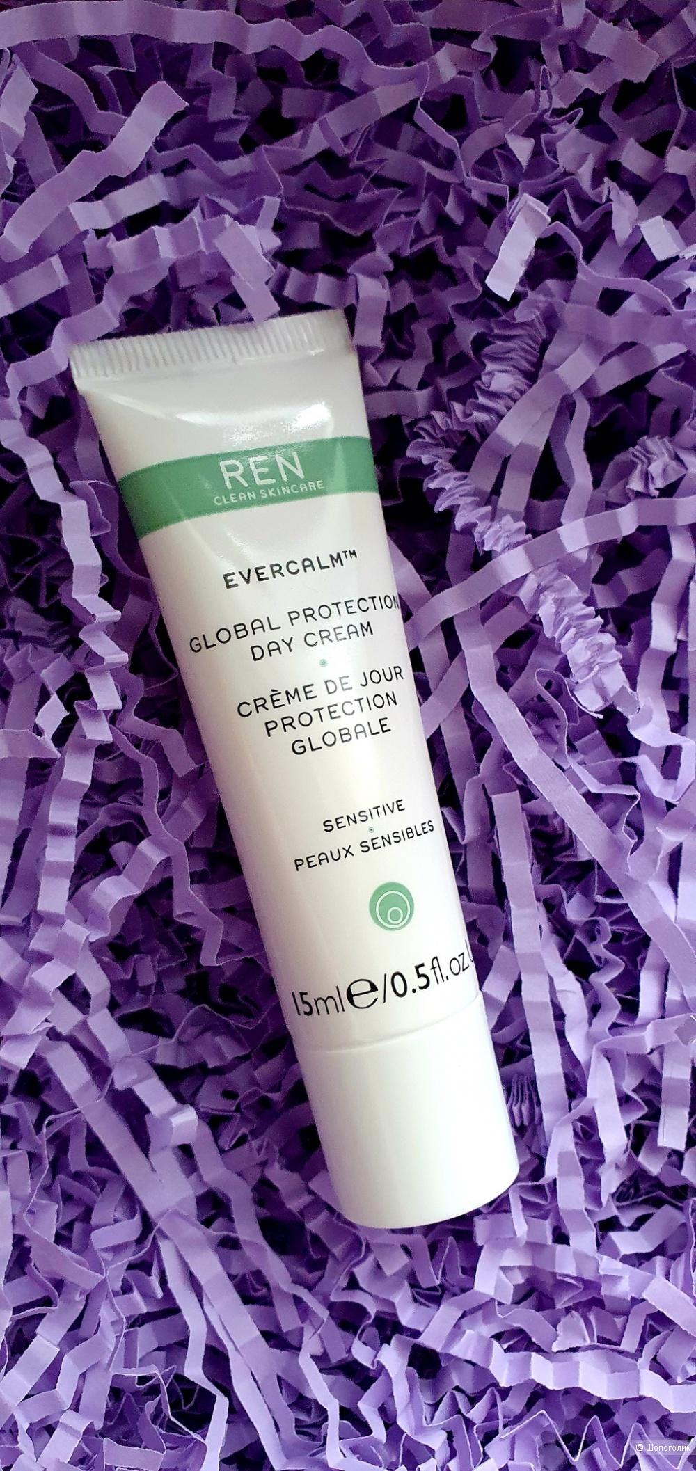 Дневной защитный крем REN Evercalm Global Protection