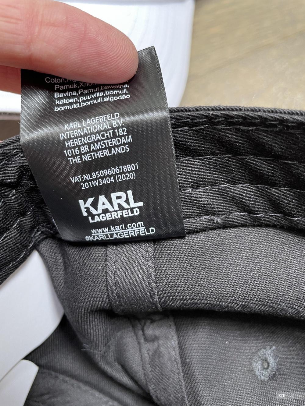 Кепка бейсболка Karl Lagerfeld, one size