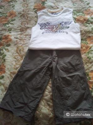 Сет шорты и футболка, 140 см рост
