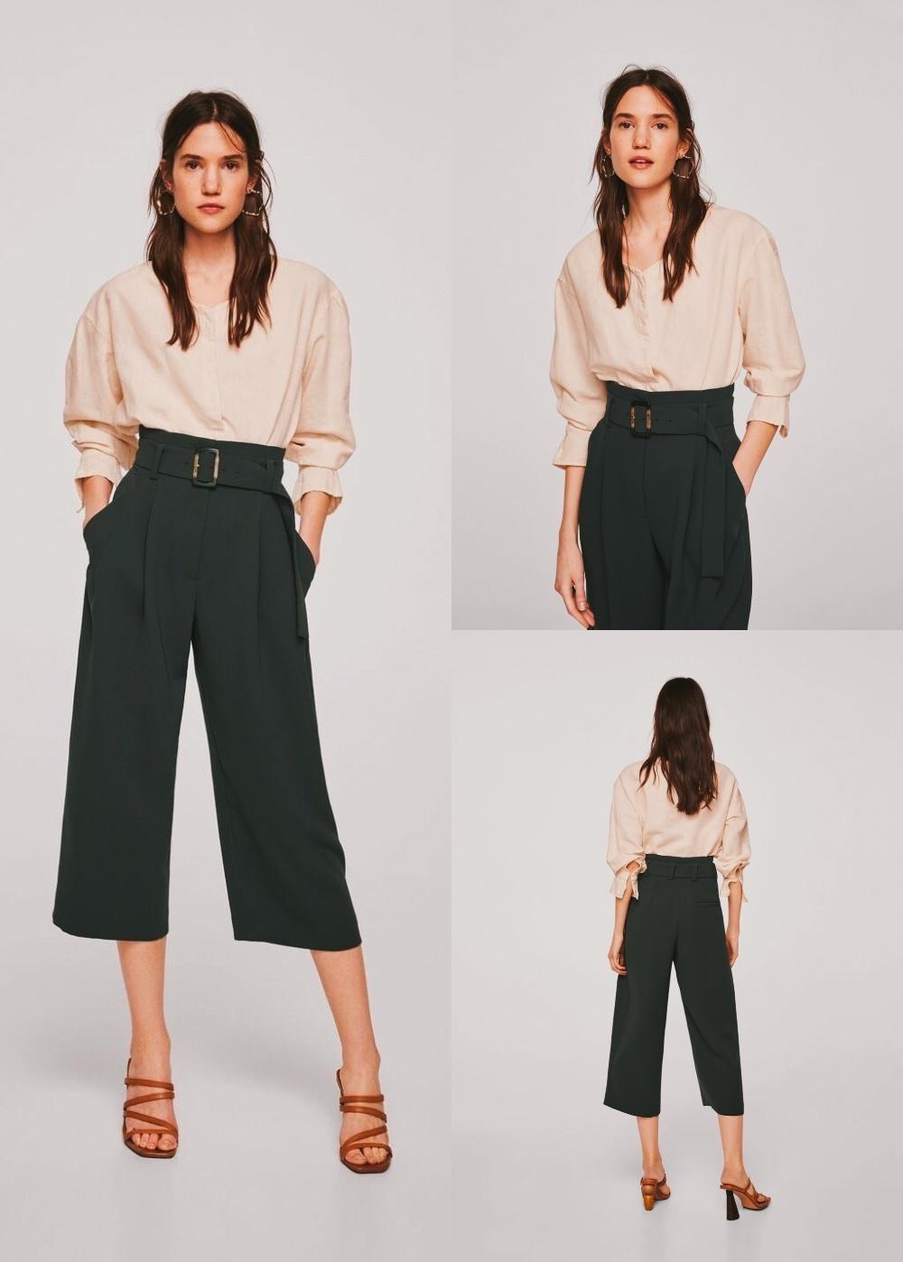 Джемпер Zara, брюки Mango 42/44