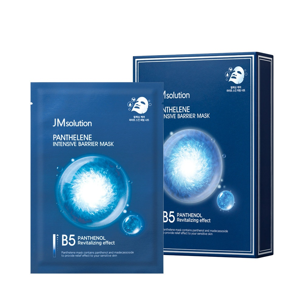 JM SOLUTION PANTHELENE INTENSIVE BARRIER MASK Интенсивная тканевая маска для восстановления барьера с пантенолом