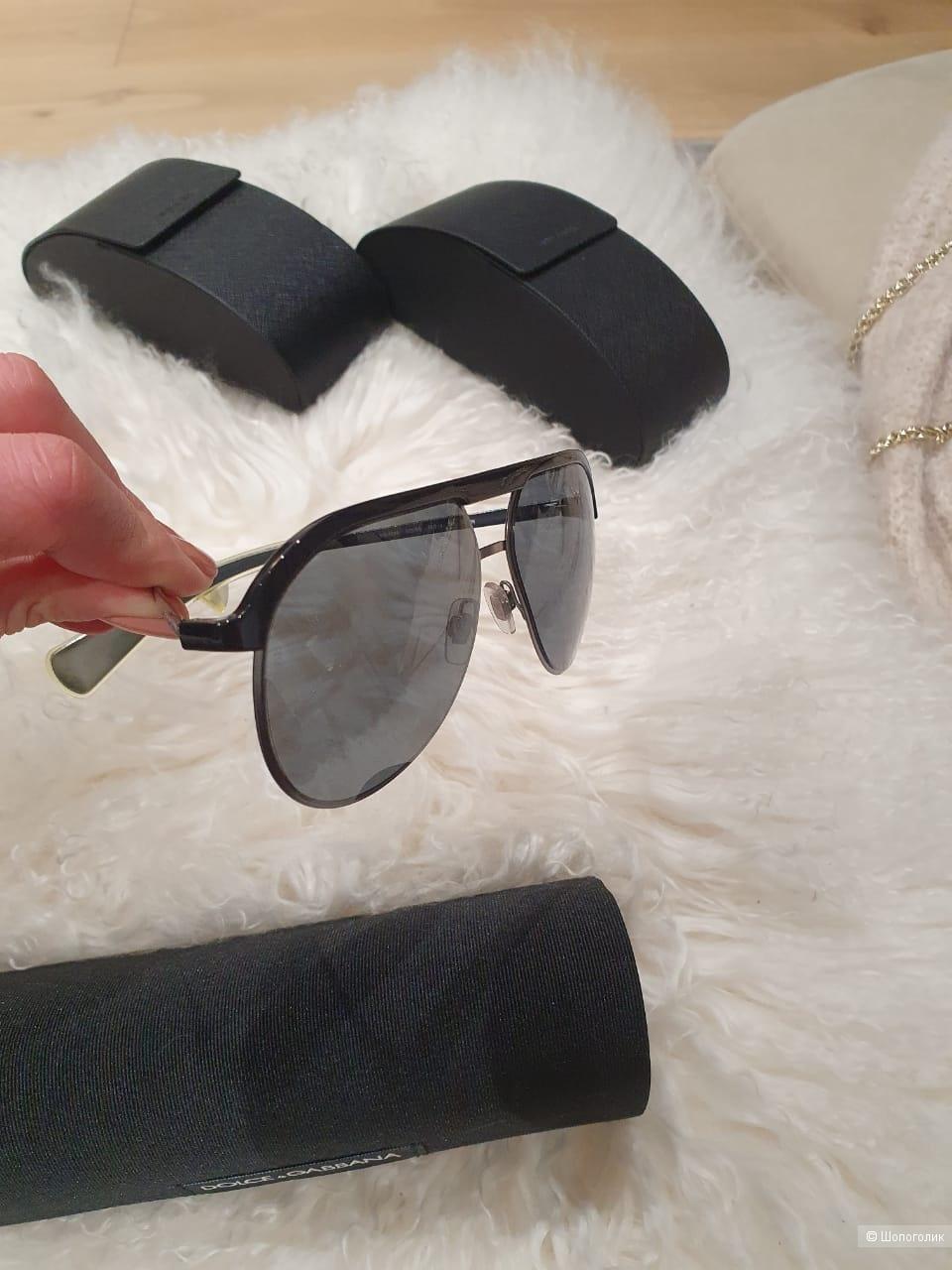 Солнцезащитные очки Dolce&Gabbana авиаторы