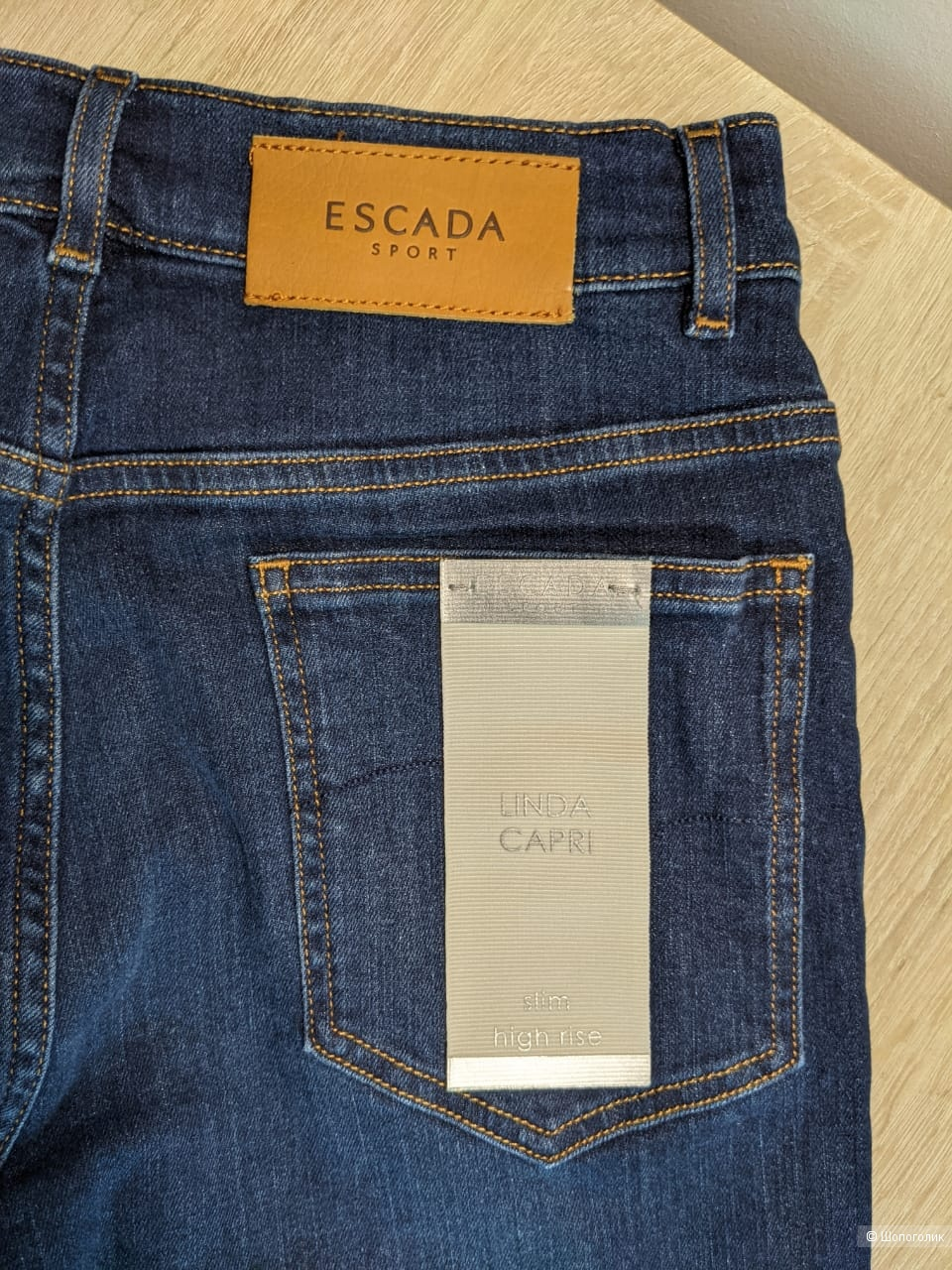 ДЖИНСЫ ESCADA SPORT  LINDA (slim high rise), размер 32