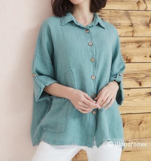 Рубашка жакет Milano button, 42-56