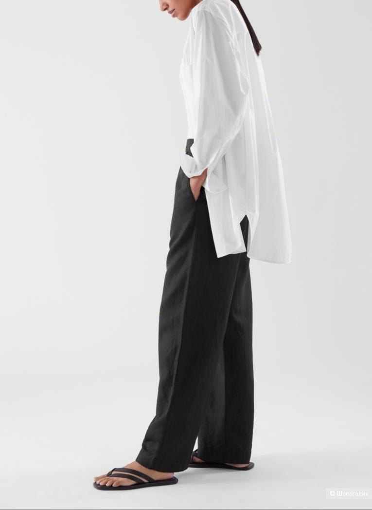 Льняные брюки salma, размер l