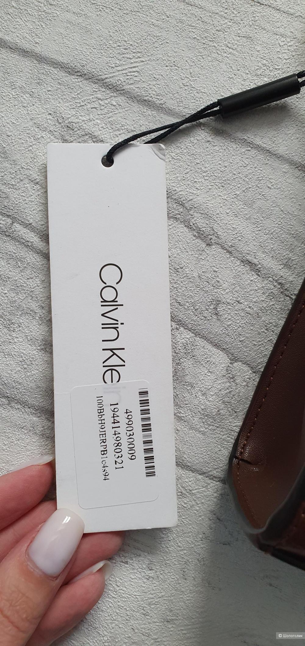 Сумка Calvin Klein  кожаная