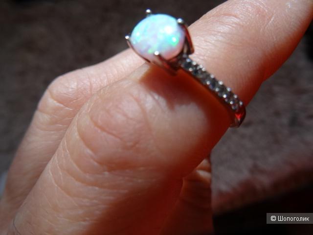 Кольцо, размер 17,5