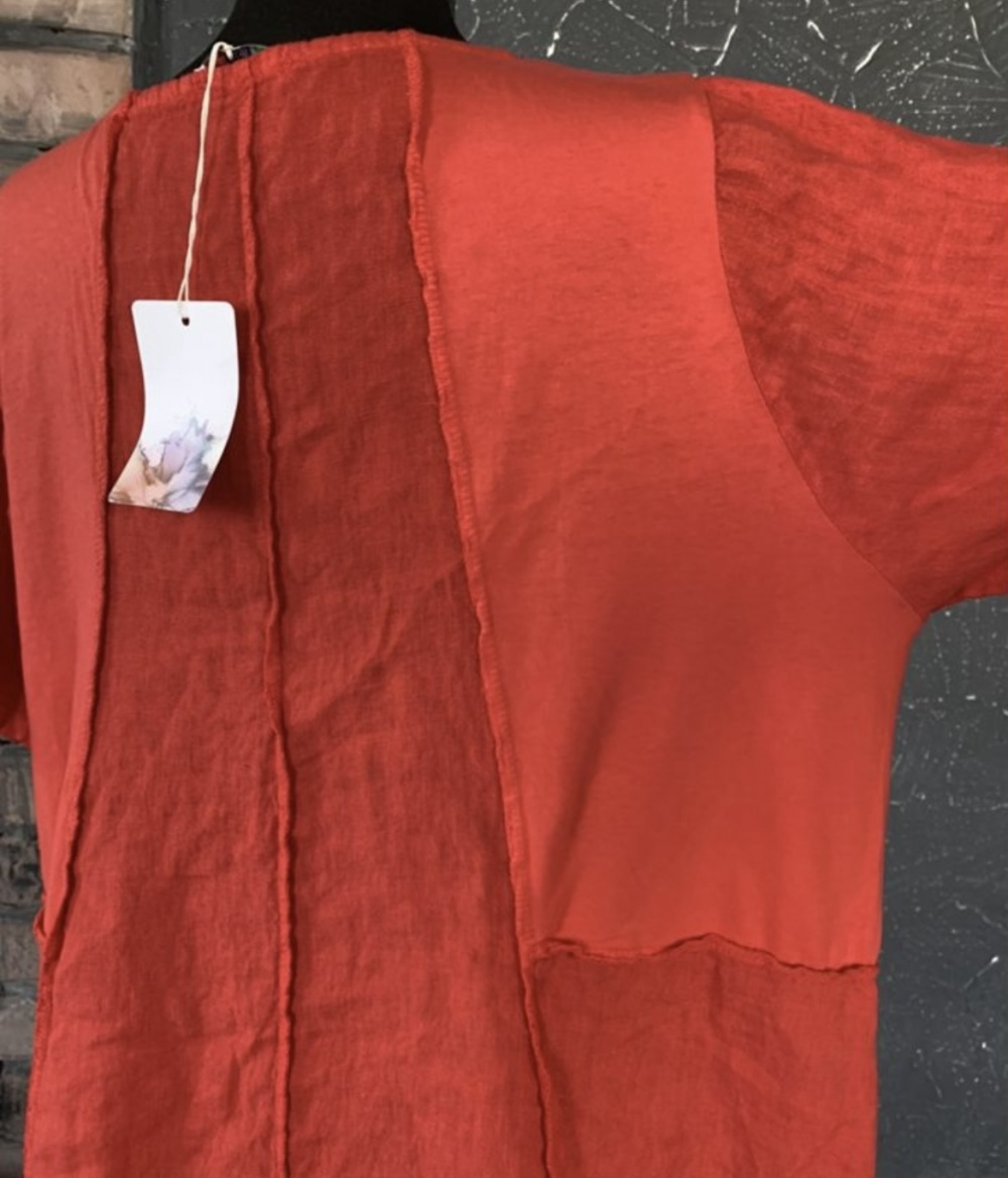 Платье PURE LINO PATCH italy, one size