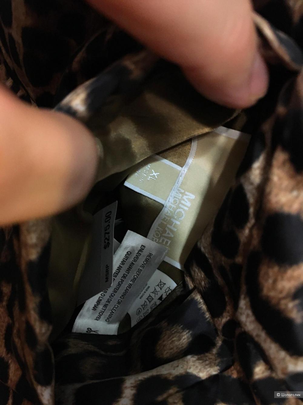 Новый двухсторонний пуховик Michael Kors,оригинал маркировка XL