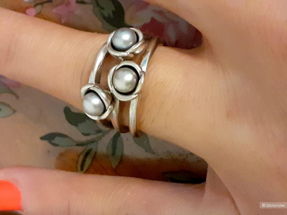 Кольцо Pandora размер 17
