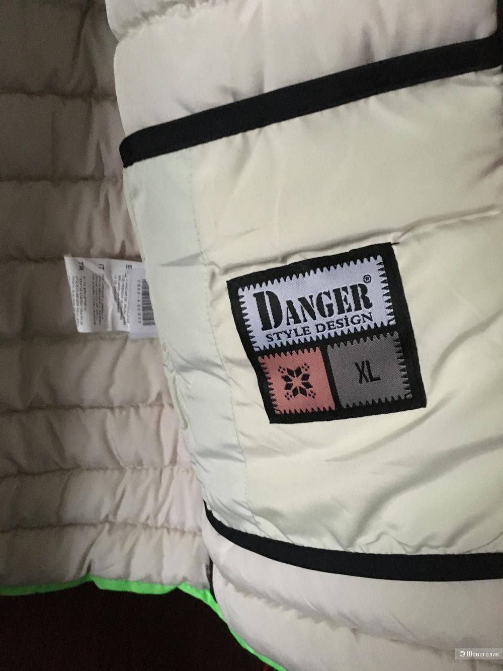Куртка пуховик Danger jeans,маркировка XL