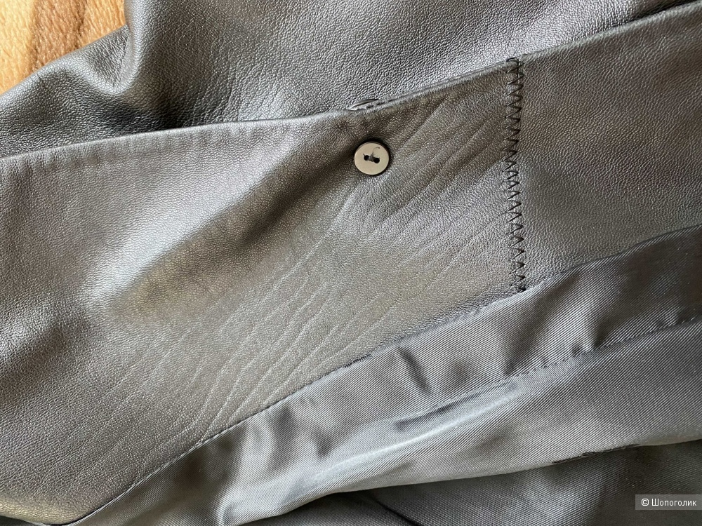 Пиджак натуральная кожа no name