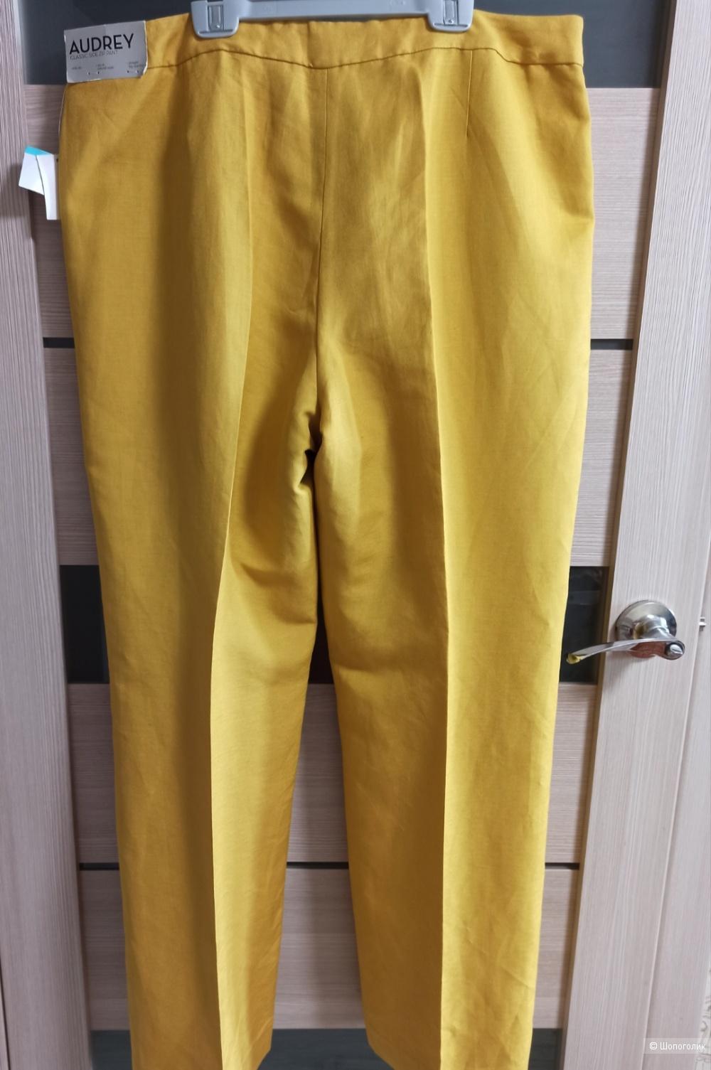 Брюки льняные Kasper, размер 16(XL)