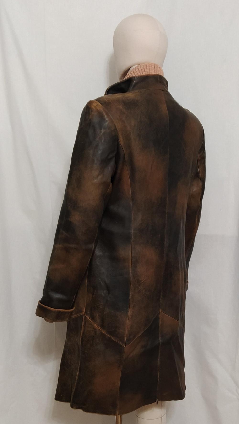 Кожаное пальто Grace, L ,XL
