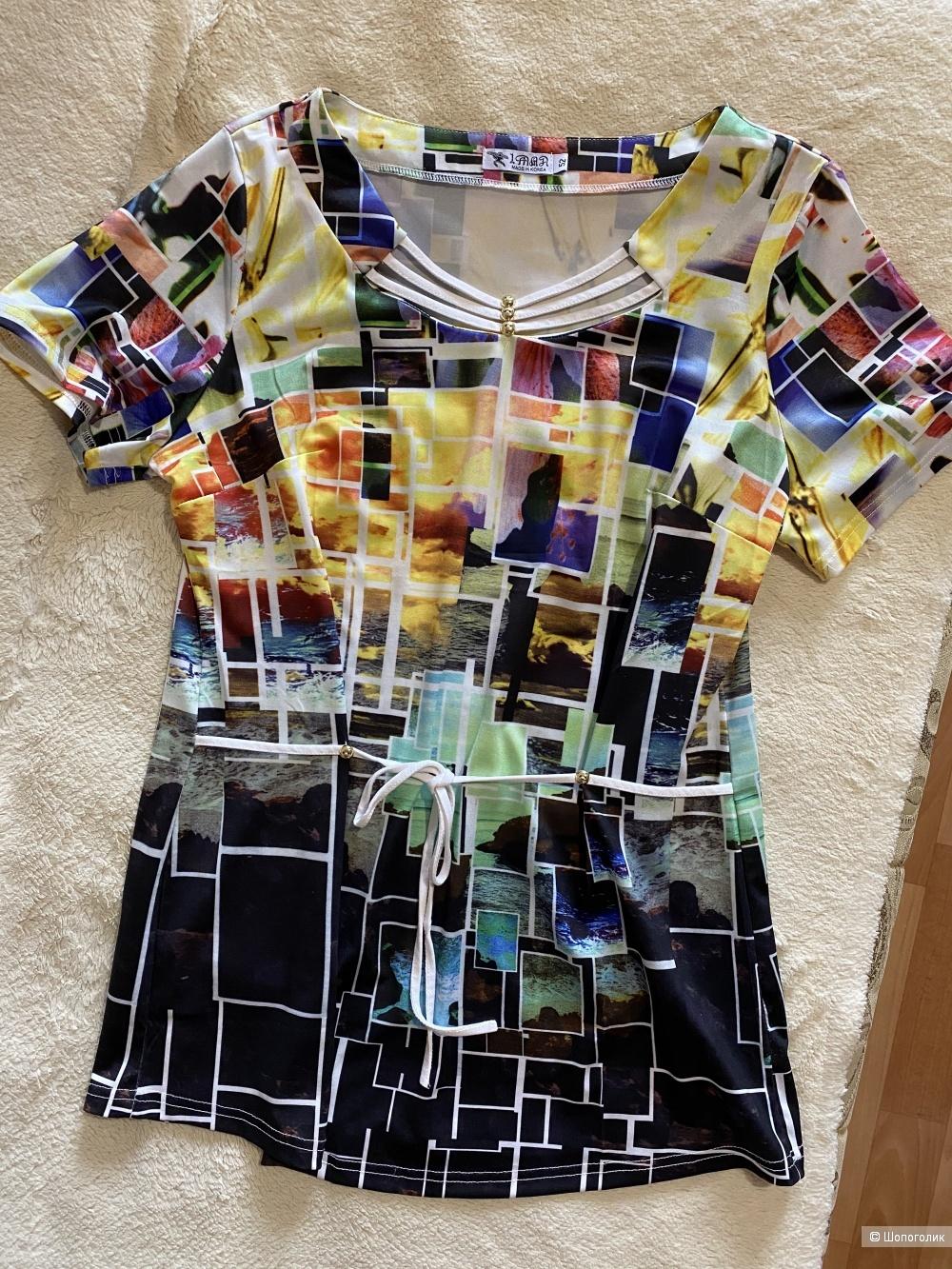 Блуза no name, размер 52