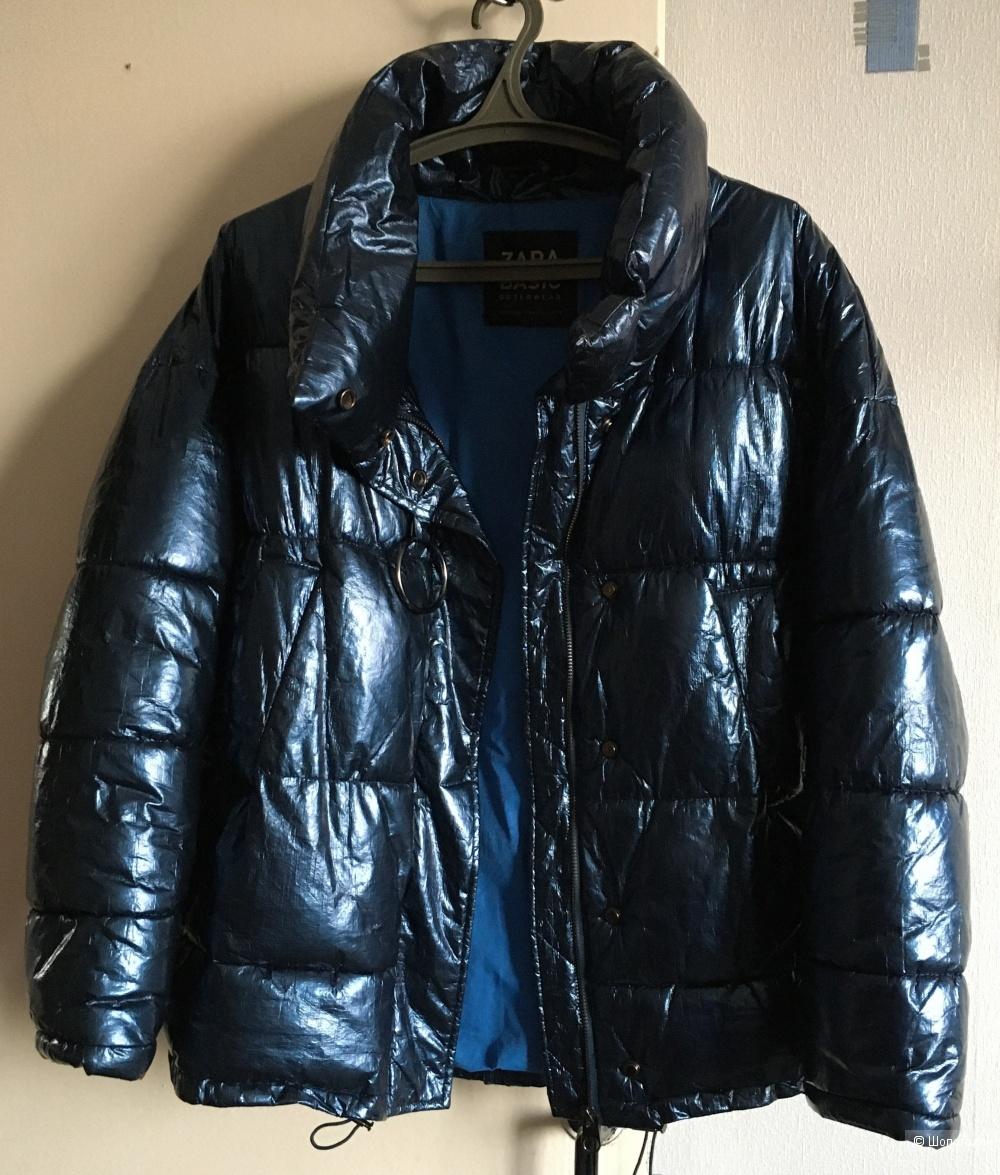 Куртка пуховик Zara маркировка L