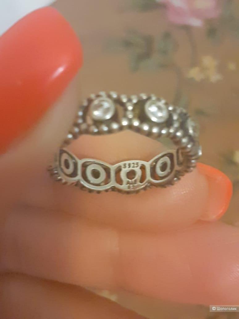 Кольцо Pandora размер 16,5