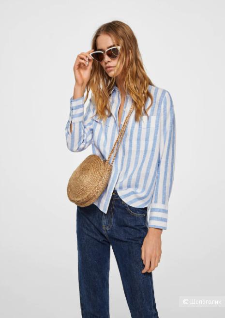 Рубашка Mango, размер S-M