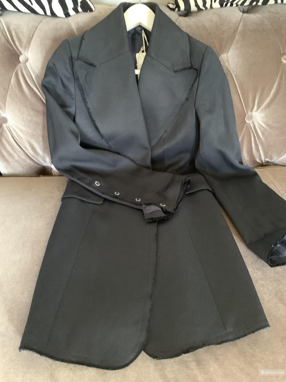 Пиджак HM черный, размер 34