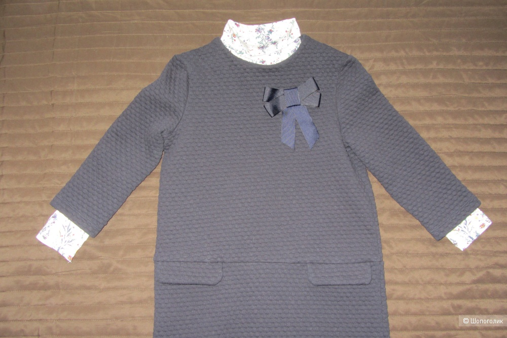 Сет из 3-х вещей - платья и водолазка Next Trikke размер 122-128 (7 лет)