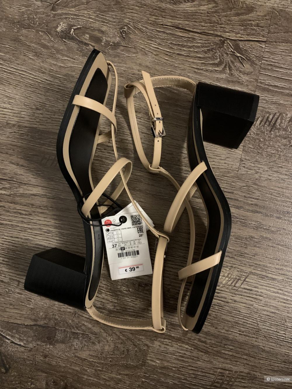 Босоножки Zara 37 размер