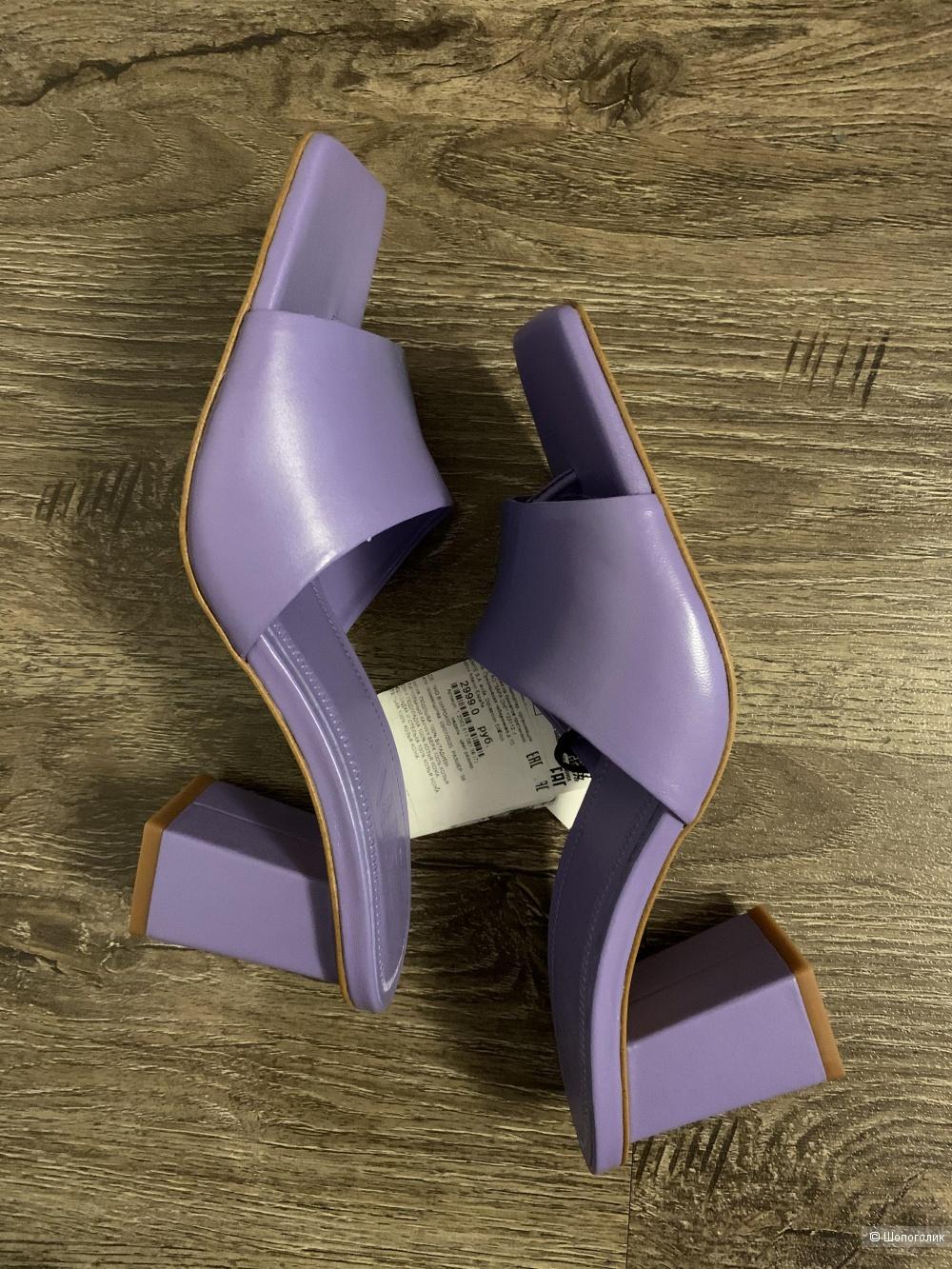 Мюли Zara 38 размер