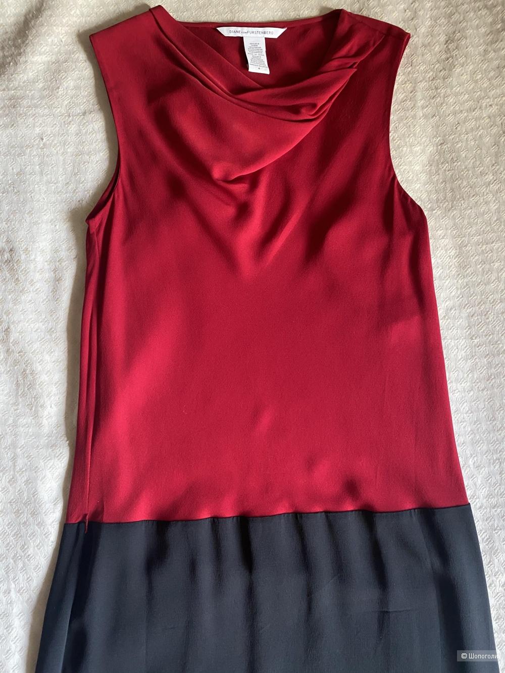 Платье коктейльное Diane von Furstenberg 6 UK