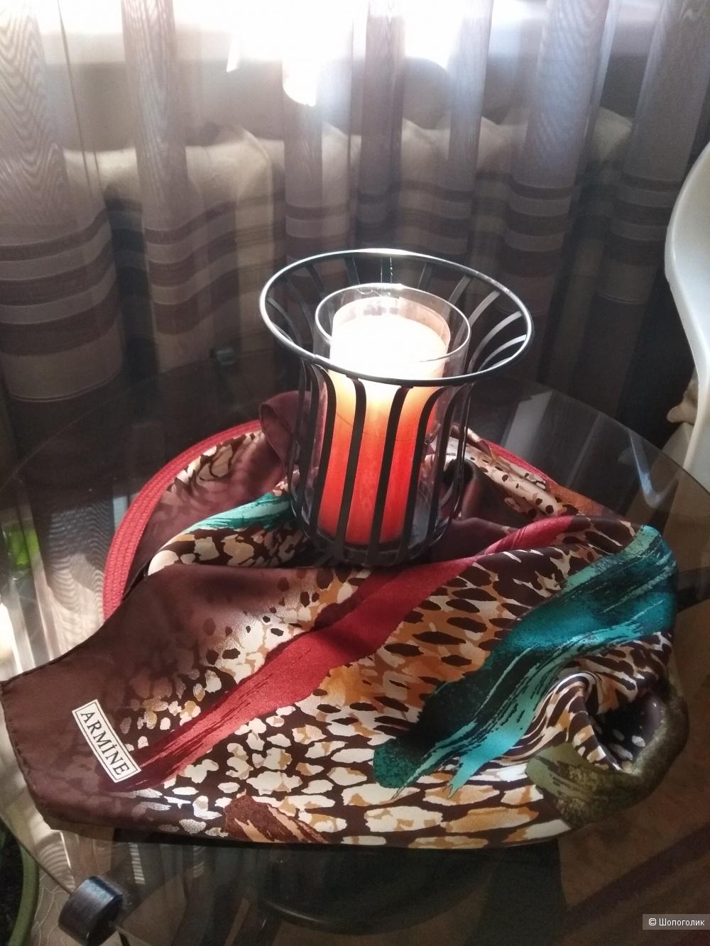 Шёлковый винтажный платок ARMINE