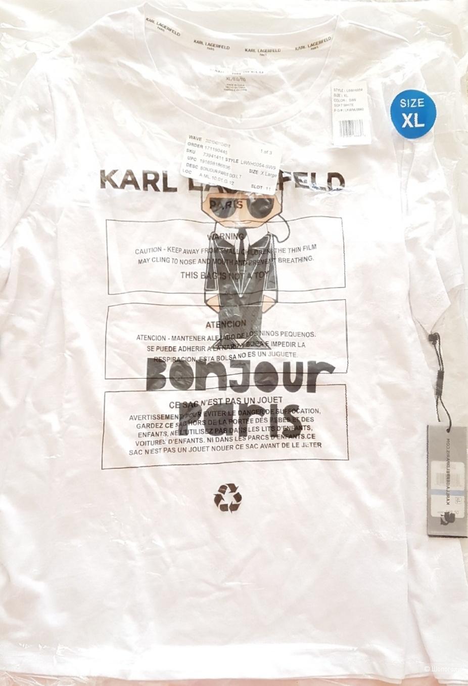 Футболка Karl Lagerfeld  размер XL