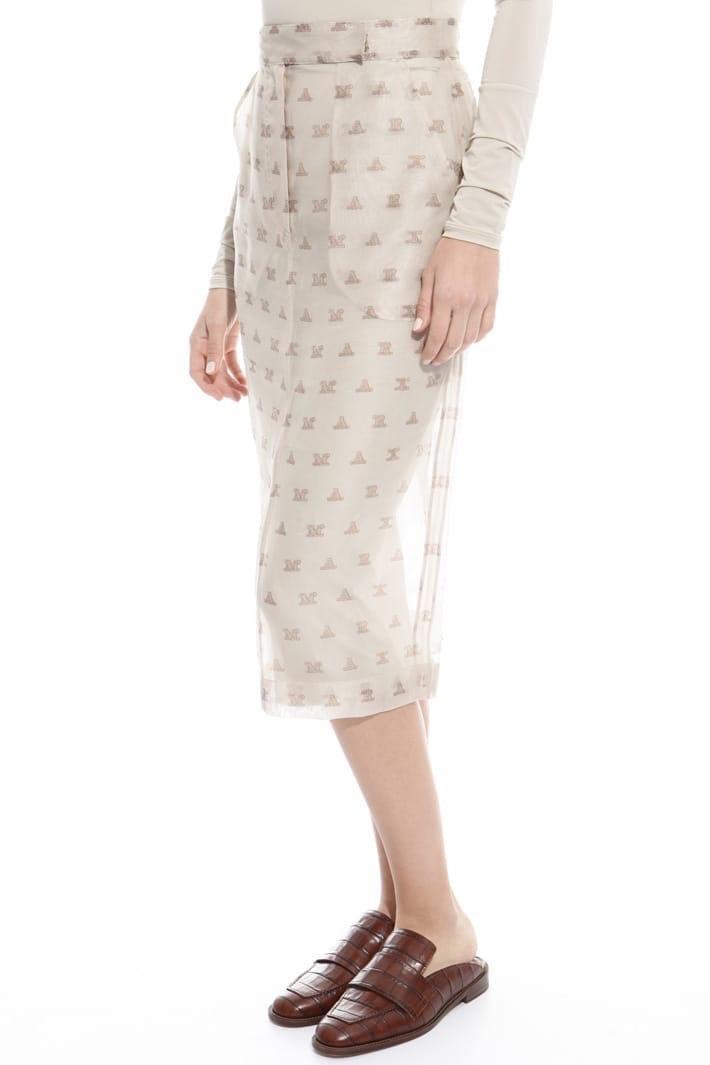 Шелковая юбка Max Mara в 42-it размере