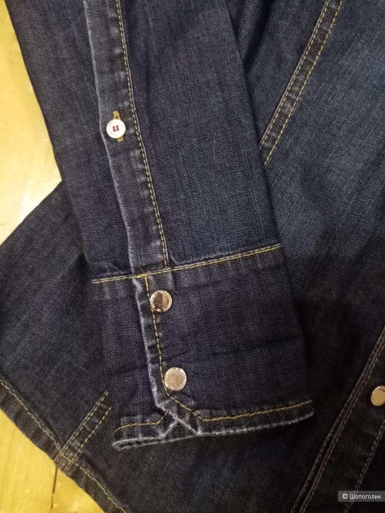 Elisabetta franchi джинсовая рубашка S