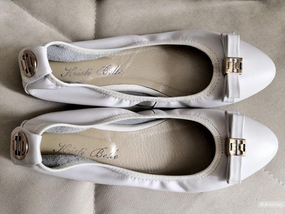 Кожаные балетки Kristi Belle 37 размер