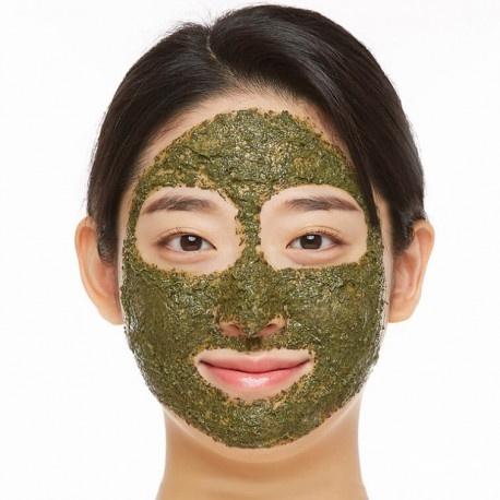 Очищающая пилинг-маска с микроиглами Wellderma Chadew Teatree Herb Tox Peeling Pack