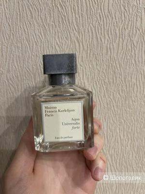 Парфюмерная вода Maison Francis Kurkdjian Aqua Universalis Forte 65 из 70 мл