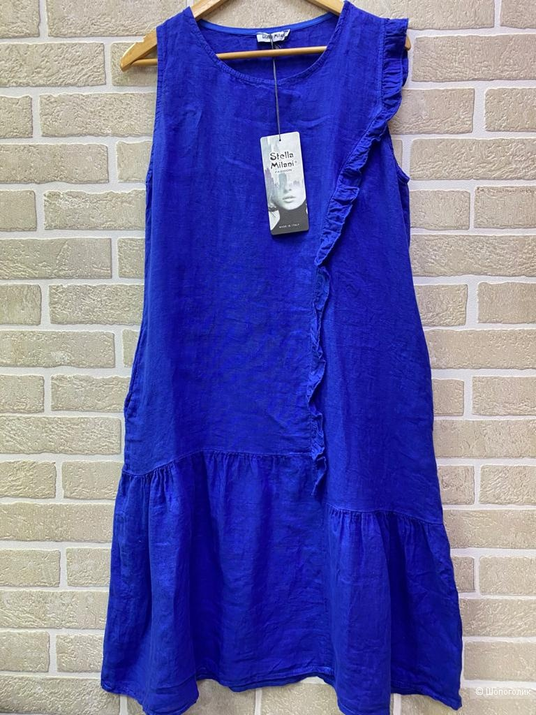 Сарафан платье оборка Stella Milani,42-48
