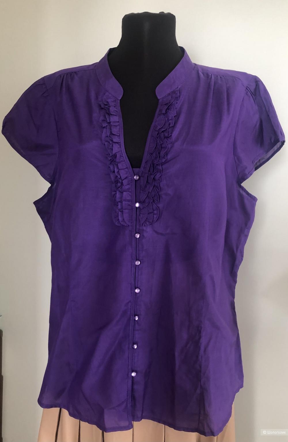 Блузка бренда  Jacqui E размер 18  ( на 48-50 )