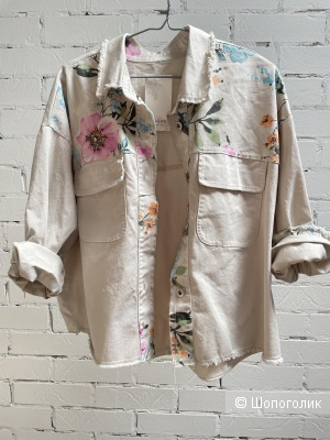 Куртка джинсовая комбинированная NEST, 42-52