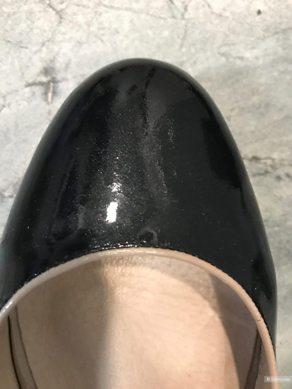 Балетки новые Paolo Conte лаковая кожа 39 размер