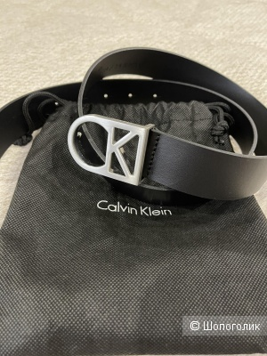 Ремень кожаный  Calvin Klein 85 см