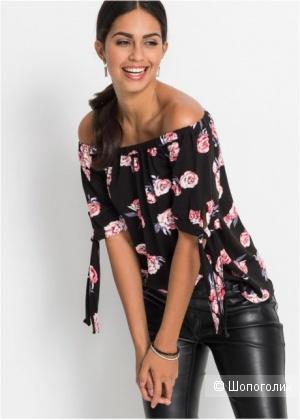 Шелковая блузка Charlotte Sparre размер 46-48