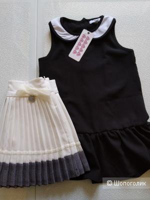 Сет платье sugar squad и юбка artigli размер 3/4 года