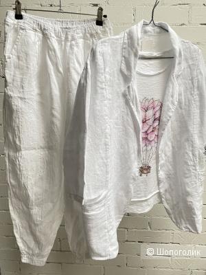 Пиджак льняной 100% lino,42-52