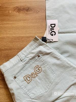 Джинсы летние D&G, 48