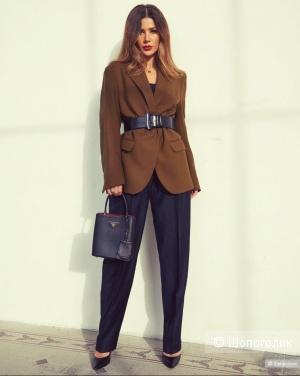 Шерстяные брюки hugo boss, размер 50/52