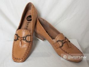 Туфли лоферы мокасины Bama, 39-39,5-40 Ru