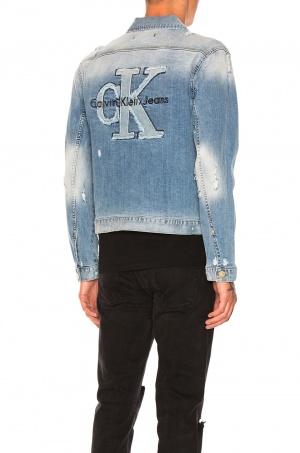 Джинсовая куртка Calvin Klein р. L