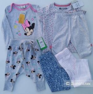 Сет  одежды YOUNGSTYLE Disney 80см.