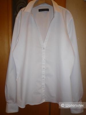 Рубашка белая M&S Collection 42-44 размер