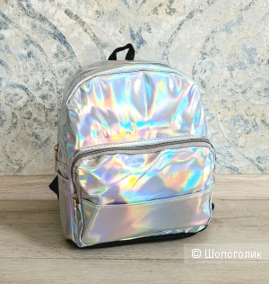 Рюкзак детский силиконовый голографический